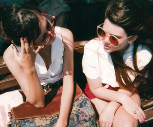 girl, vintage, and friends image