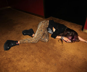 girl, fashion, and drunk image
