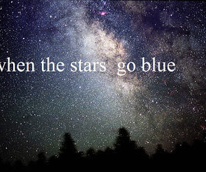 blue, galaxy, and quote image