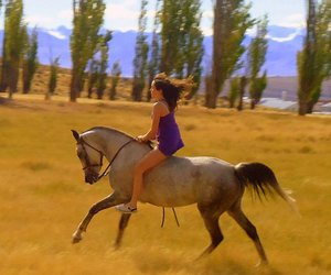 argentina, girl, and nature image