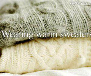 sweater, fashion, and warm image