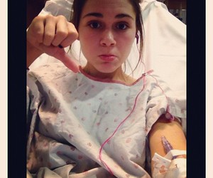 bored, girl, and iv image