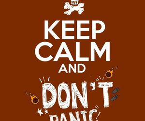 all time low and don't panic image