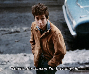 bob dylan, text, and quote image