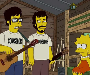 bret, flight of the conchords, and lisa simpson image
