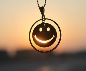 smile, sun, and necklace image