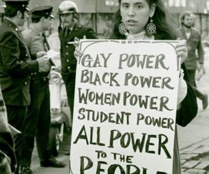 black and white, words, and black power image