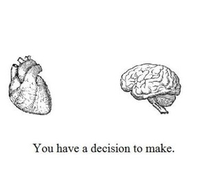 brain, confusion, and heart image