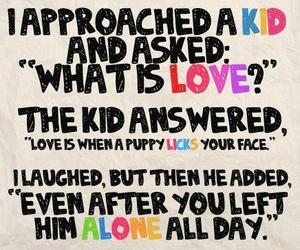 love, quotes, and kids image