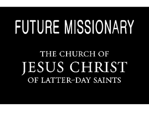 graphic about Future Missionary Tag Printable named Google Graphic End result for