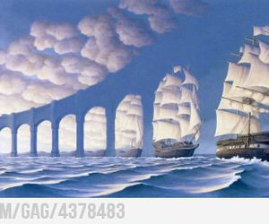 9gag, art, and clouds image