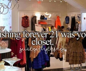 forever 21, clothes, and closet image