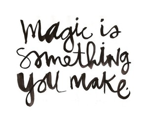 magic, quotes, and text image