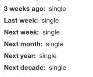 single, text, and forever image