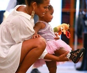 baby, mom, and shoes image