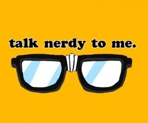 nerd, glasses, and nerdy image