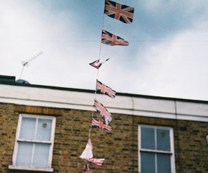 flag and london image