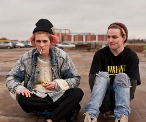 grunge, boy, and swim deep image