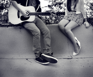 guitar, love, and song image