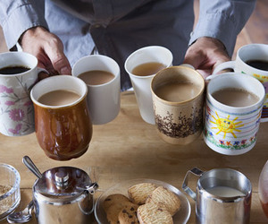 coffee, tea, and biscuits image