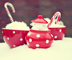 christmas, red, and cup image