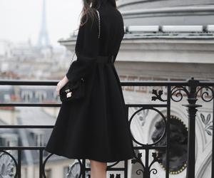 fashion, black, and paris image
