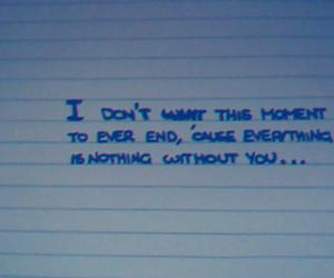 nothing, without you, and phrases image