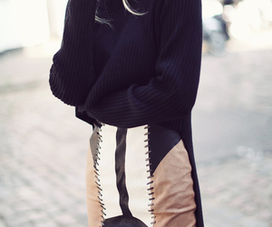 black, leather, and Polo image