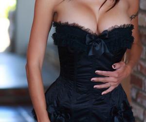 beautiful, black, and boobs image