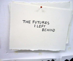 future, quote, and text image