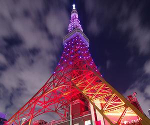 paris, light, and eiffel tower image