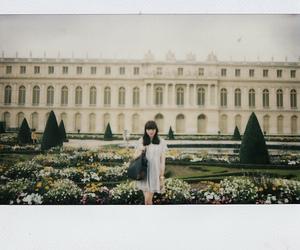 girl, polaroid, and photography image