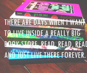 book, quote, and forever image