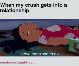 crush, Relationship, and die image