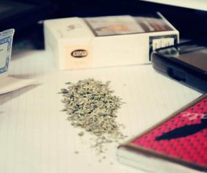 marijuana, phone, and relax image