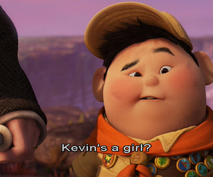up, disney, and kevin image