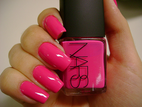 Pictures Of Hot Pink Nail Polish