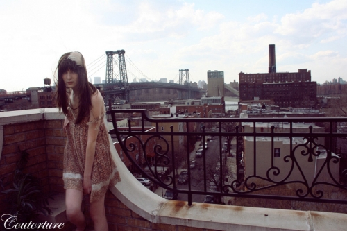 city, cityscape, and dress image