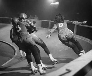 roller derby, sport, and women image