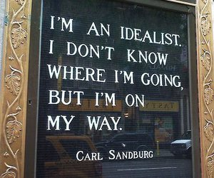 idealist, life, and quotes image