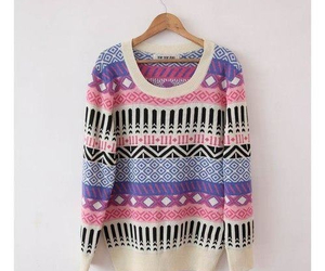 sweater and pink image