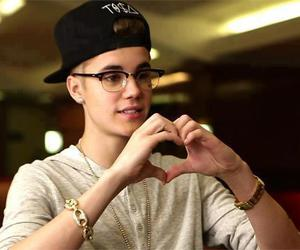 justin bieber, justin, and heart image