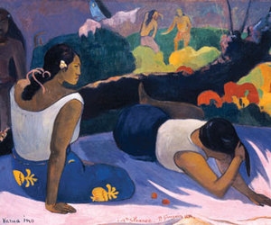 gauguin and painting image