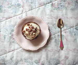 cupcake, spoon, and food image