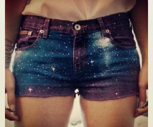 galaxy, shorts, and short image