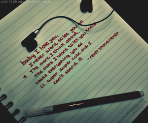 Lyrics, nevershoutnever, and song image