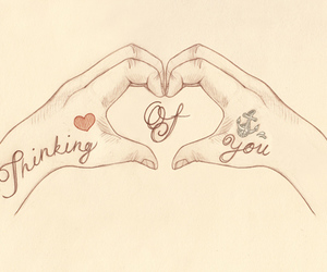 heart, love, and thinking image