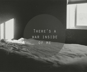 war, quote, and inside image