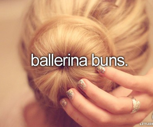 hair, girl, and ballerina image