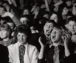 a hard days night, girl, and screaming image